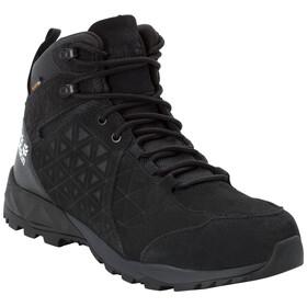 Jack Wolfskin Cascade Hike LT Texapore Mid Sko Herrer, sort/grå